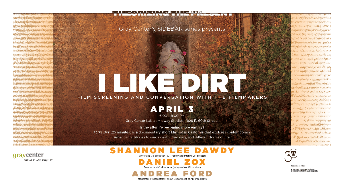 poster for I Like Dirt documentary film screening and discussion