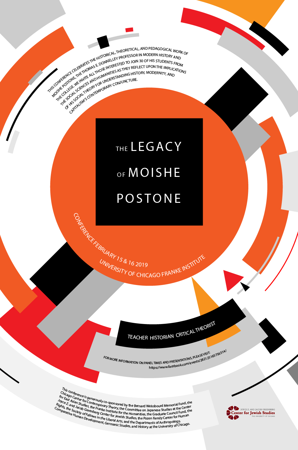 The Legacy of Moishe Postone poster