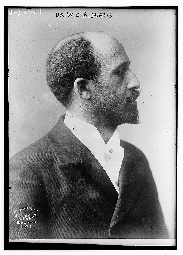 portrait of W.E.B. Du Bois
