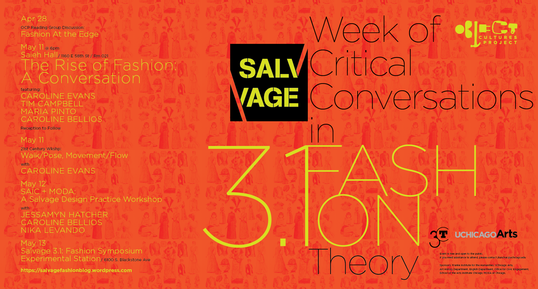 Salvage 3.1 Week of Critical Conversations poster