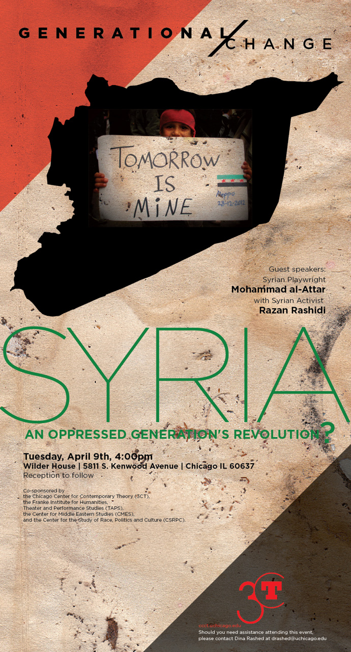 poster for Syria: An Oppressed Generation's Revolution
