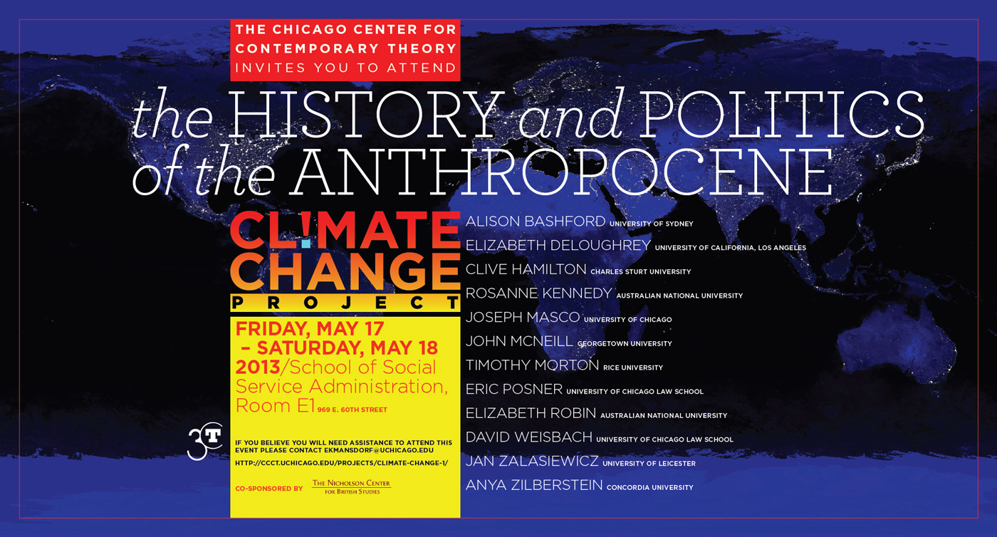 May 2013 Climate Change event poster