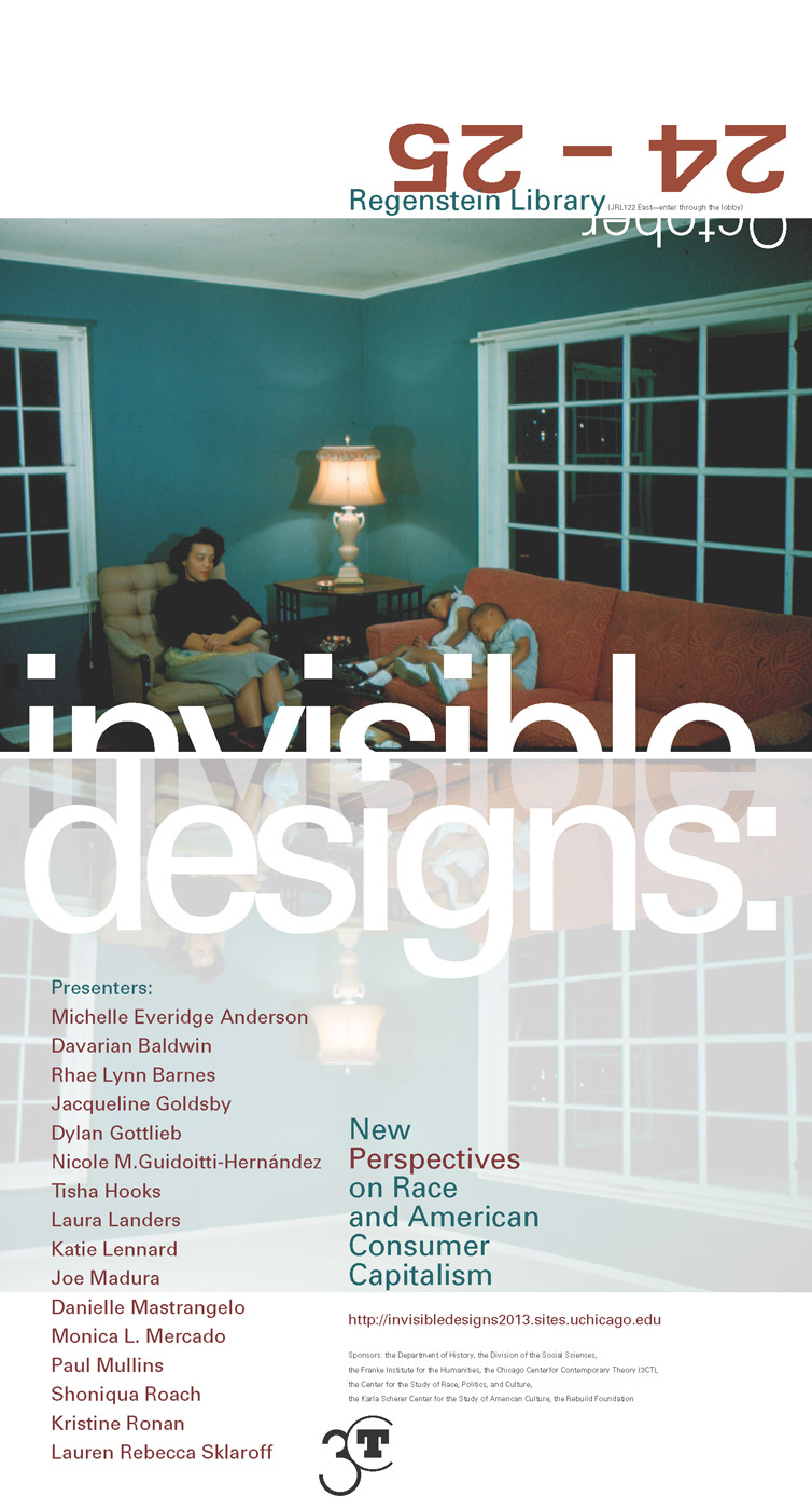 2013 Invisible Designs conference poster