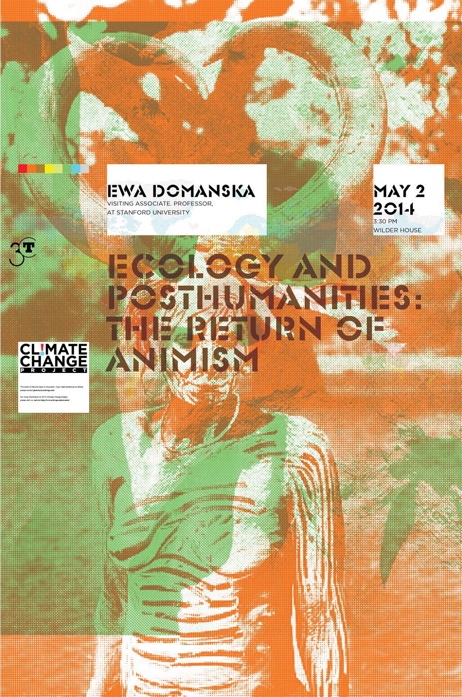 Ewa Domanska Climate Change poster
