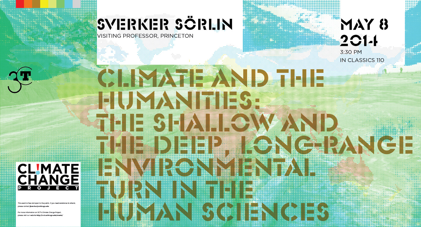 2014 Sorlin Climate Change event poster