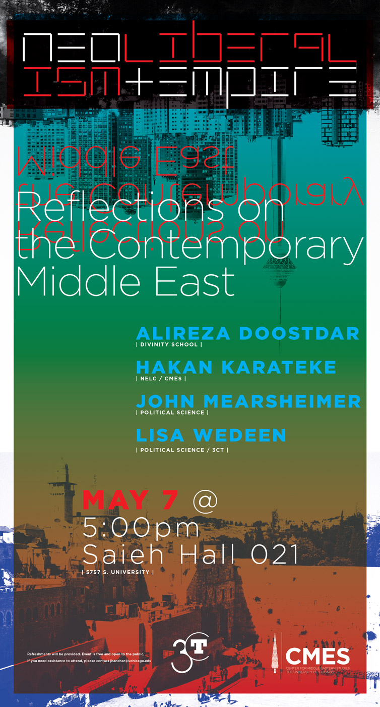Reflections on the Contemporary Middle East poster