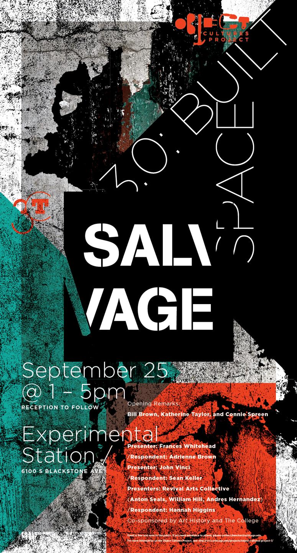 Salvage 3.0 Symposium poster