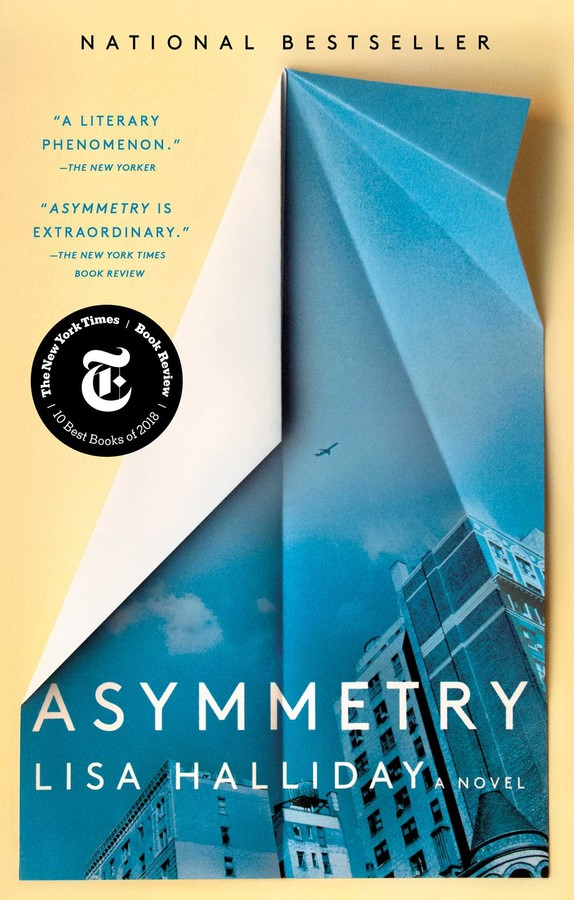 BOOK: Lisa Halliday, Asymmetry