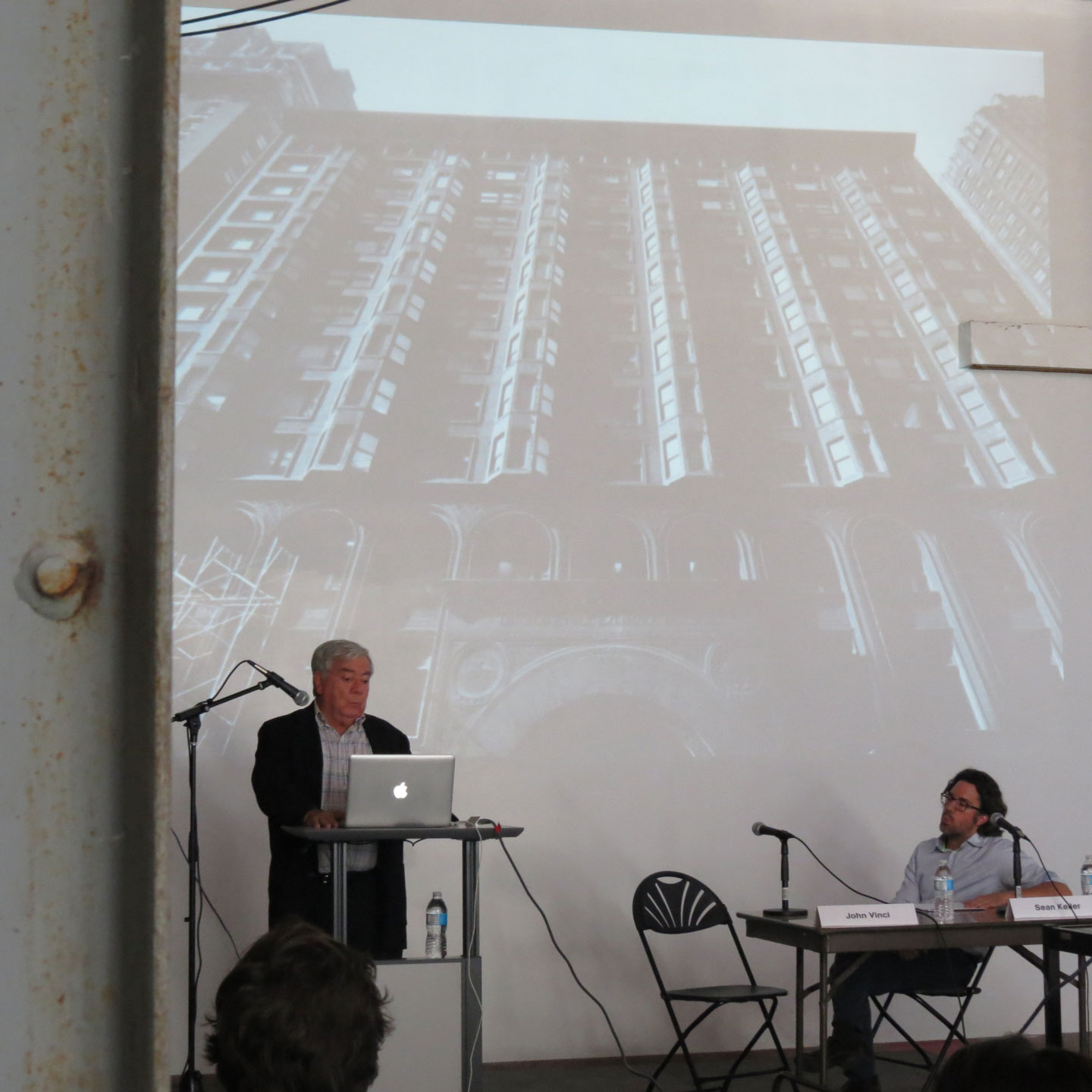 a presentation at the Salvage 3.0 symposium