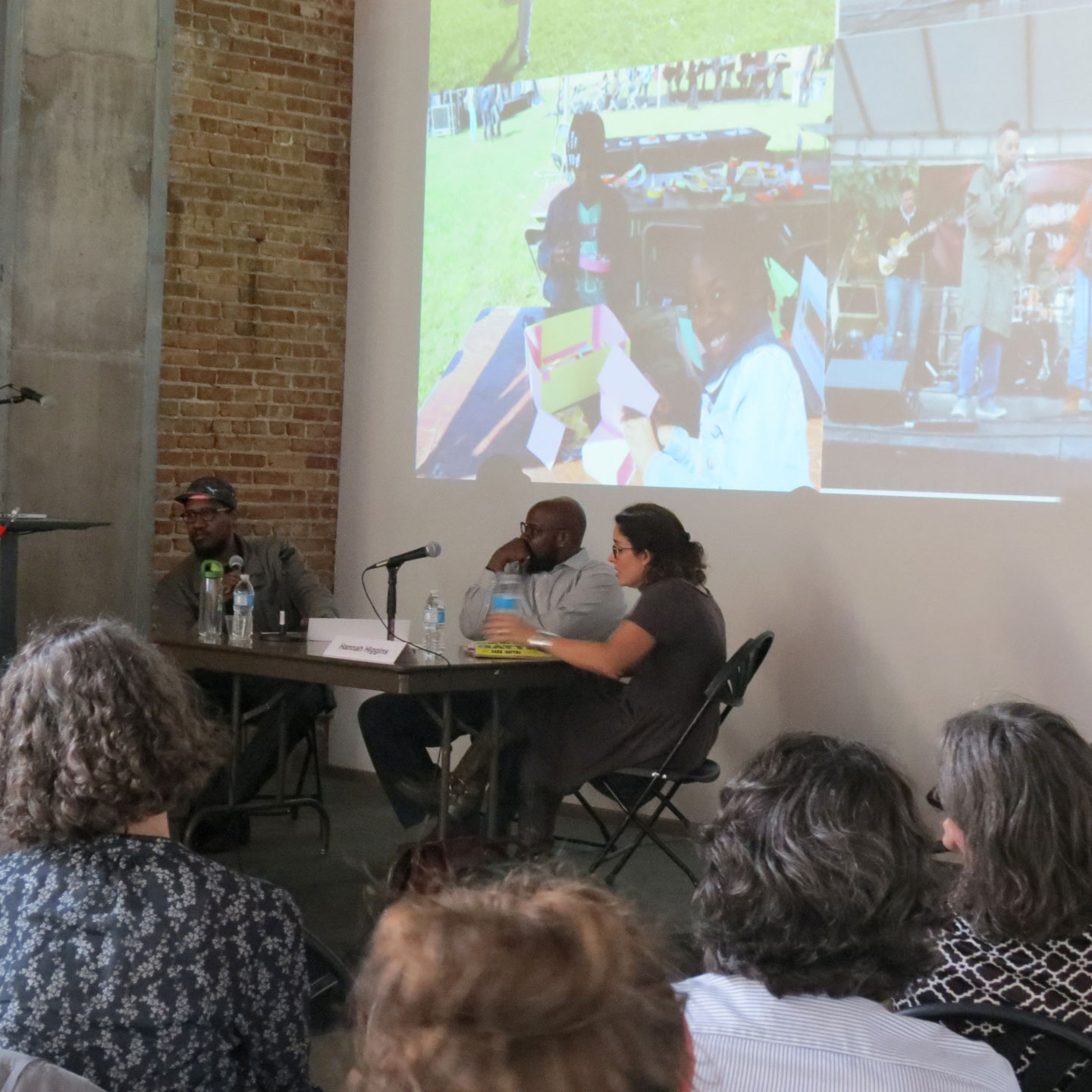panelists in discussion at the Salvage 3.0 symposium