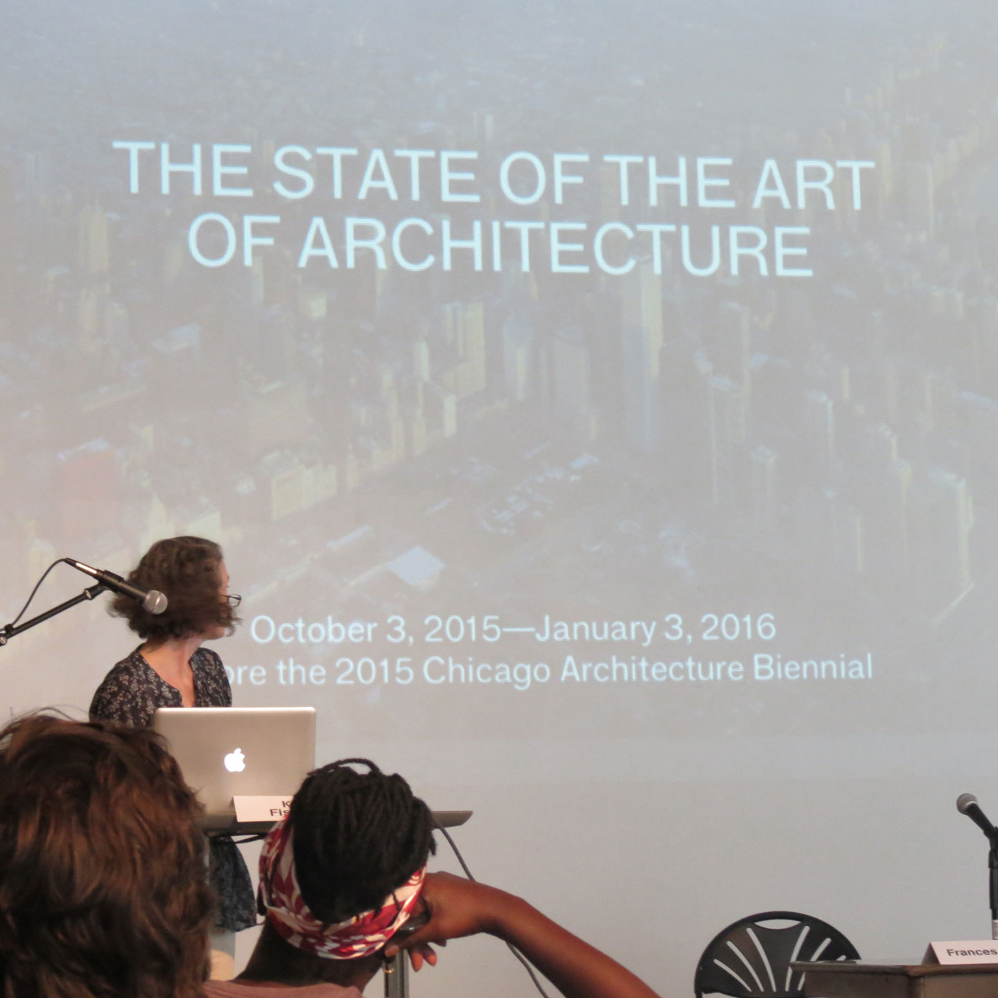 a presentation at the Salvage 3.0 symposium, with a slide reading