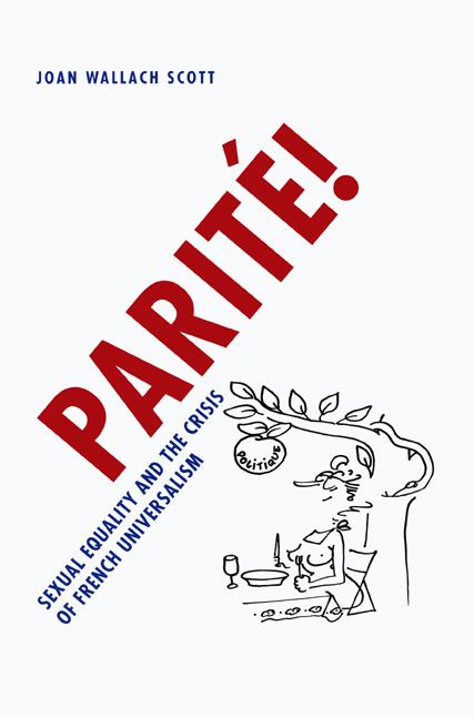 Parité cover by Joan Wallach Scott