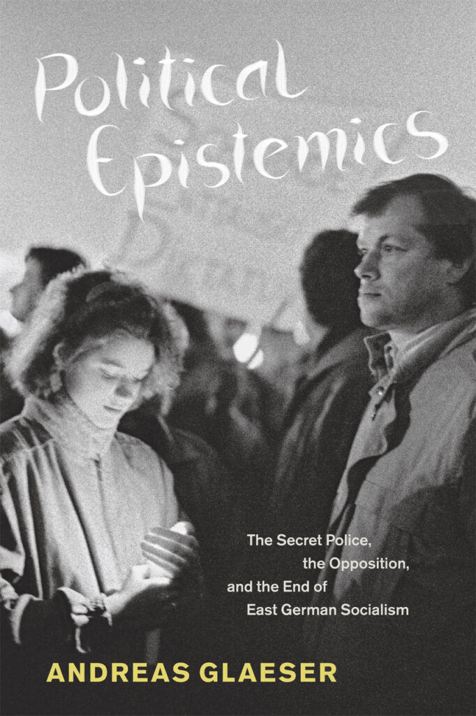 cover of Political Epistemics by Andreas Glaeser