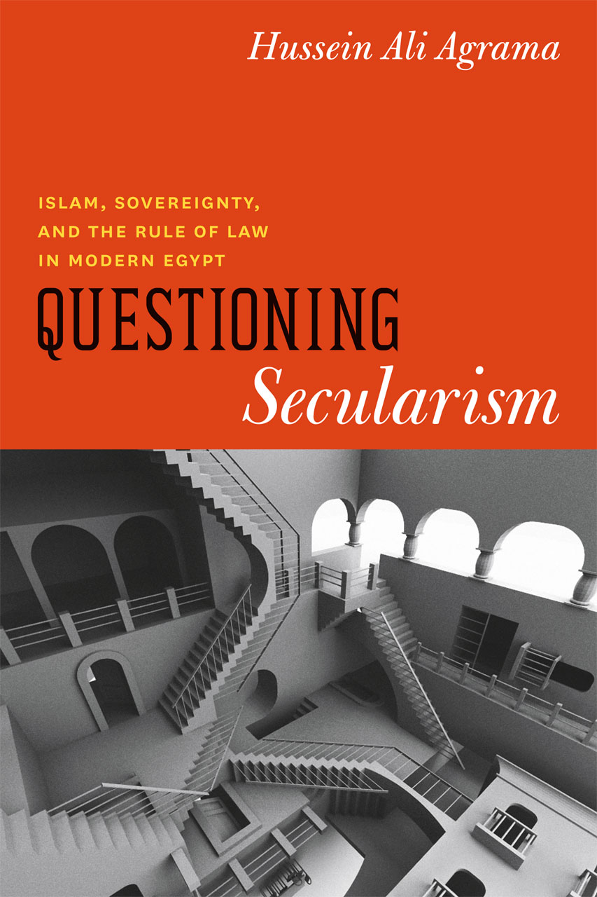 cover of Questioning Secularism by Hussein Ali Agrama