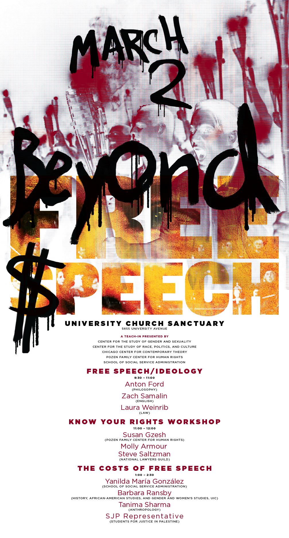 Beyond Free Speech poster