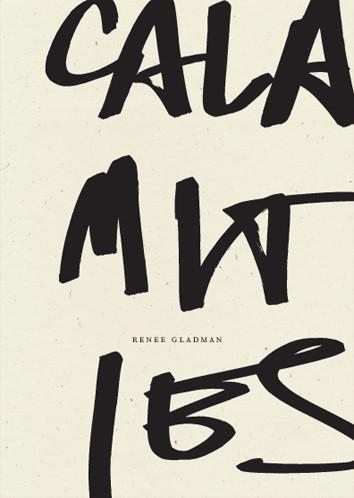 BOOK: Renee Gladman, Calamities