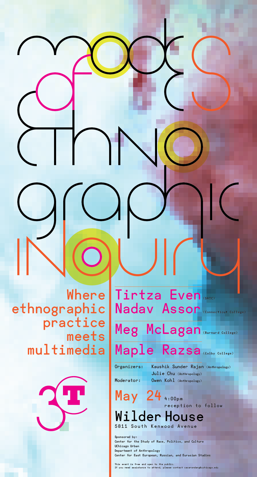 poster for Modes of Ethnographic Inquiry