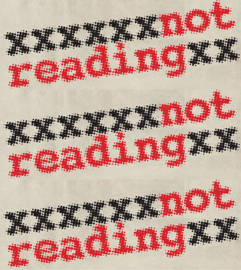 Graphic for Not Reading English Graduate Conference