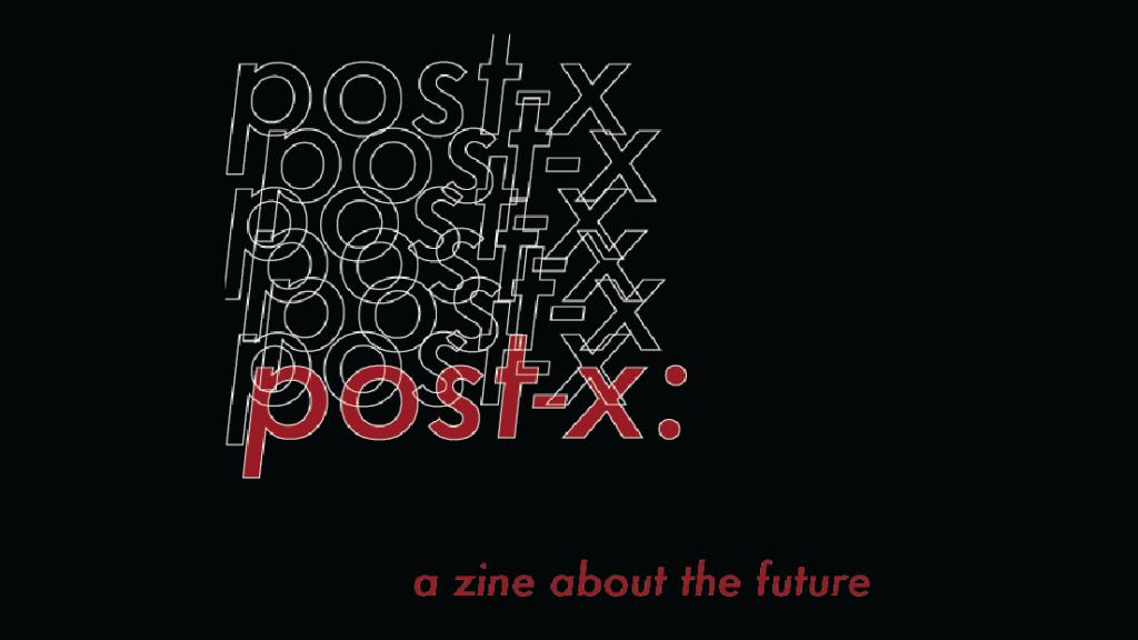 post-x zine cover crop