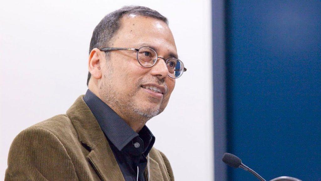 portrait of Dipesh Chakrabarty speaking